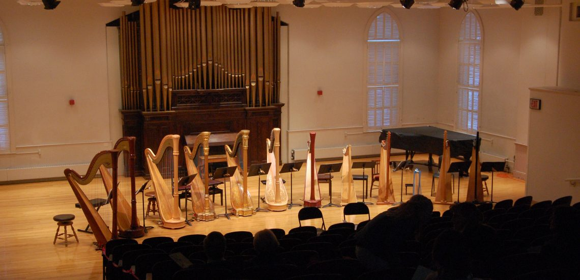 Corthell Concert Hall, USM Gorham Campus